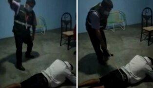 Piura: ronderos azotan a hombre acusado de ser infiel