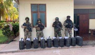 Incautan más de 800 kilos de droga e inhabilitan tres pistas clandestinas en Cusco y Ucayali