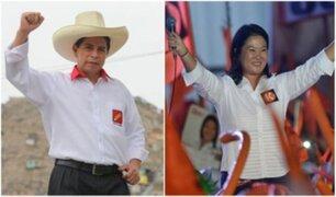 CPI: Castillo llega a 34,4% y Fujimori obtiene 32,6% en empate técnico