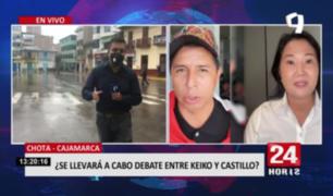 ¿Se llevará a cabo debate entre Pedro Castillo y Keiko Fujimori?