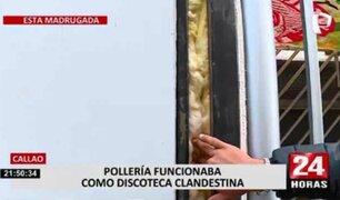 Callao: bares clandestinos habían colocado esponjas para aislar la bulla generada