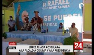 Elecciones 2021: López Aliaga anhela ser alcalde de Lima y luego postular a las próximas elecciones