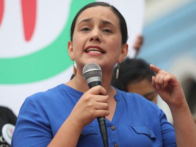Segunda vuelta: Verónika Mendoza formalizará su respaldo a la candidatura de Pedro Castillo