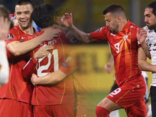 Alemania cayó en casa ante Macedonia