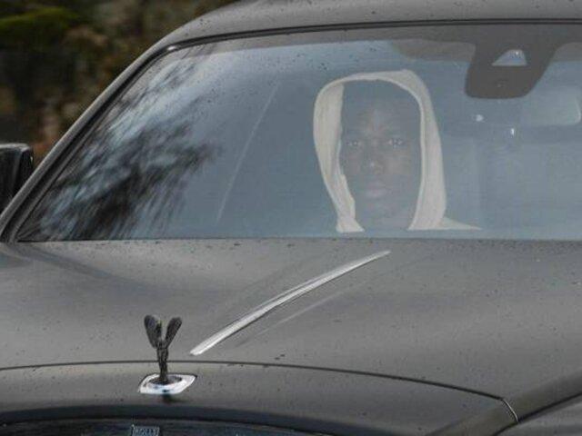 Paul Pogba recuperó su lujoso automóvil incautado el año pasado