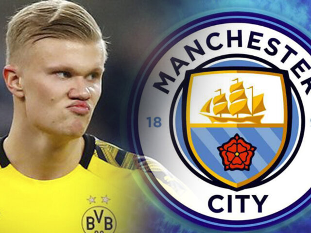 Manchester City prepara millonaria oferta para Erling Haaland