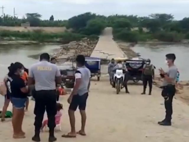 Tumbes: intervienen a más 150 que se reunían en orilla del río Zarumilla