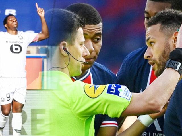 Neymar fue expulsado y el PSG pierde la punta de la Ligue 1