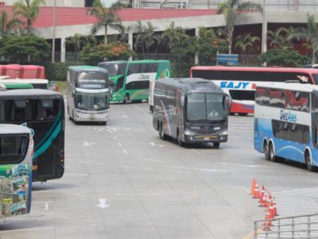 Plaza Norte: viajes interprovinciales se reanudan tras restricciones por Semana Santa
