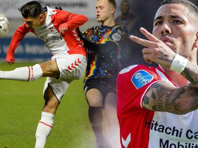 Sergio Peña: anotó en la victoria del FC Emmen en la Eredivisie