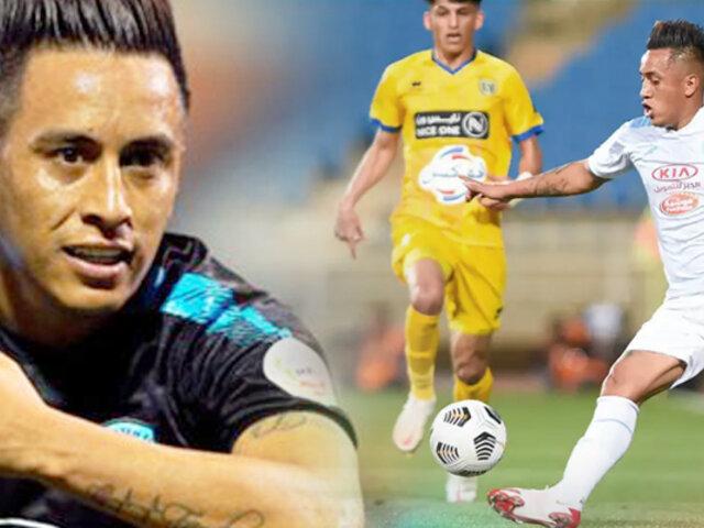 Christian Cueva: Al Fateh cayó 3-2 ante Al Taawon