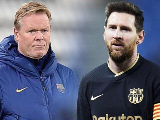 ¿Lionel Messi seguirá en el Barcelona?