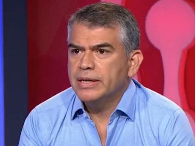 """Guzmán: """"Los aciertos y errores del Gobierno de transición solo los asume el presidente Sagasti"""""""