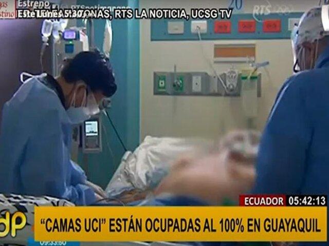 Ecuador:  ya no quedan más camas UCI disponibles en Guayaquil