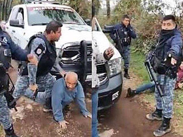 México: video causa indignación por abuso policial en contra de un anciano