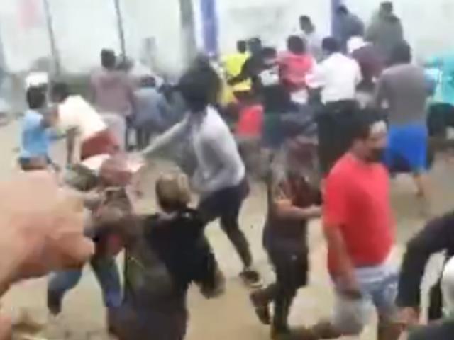 Iquitos: manifestantes y policías se enfrentan en protesta contra empresa eléctrica