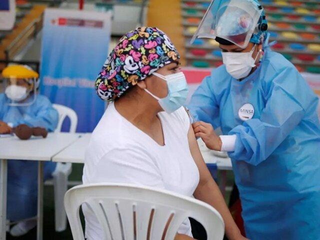 Vacuna Covid-19: más de 8 millones 125 mil peruanos ya recibieron primera dosis