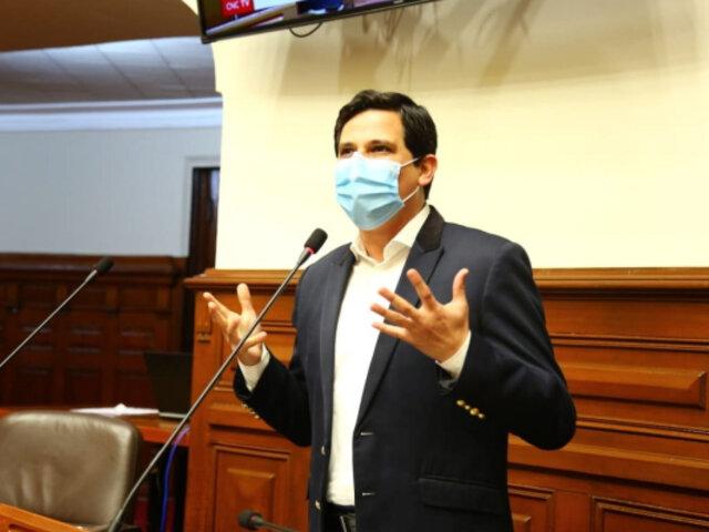 "Congresista César Combina da positivo al covid-19: ""Estoy cumpliendo aislamiento"""