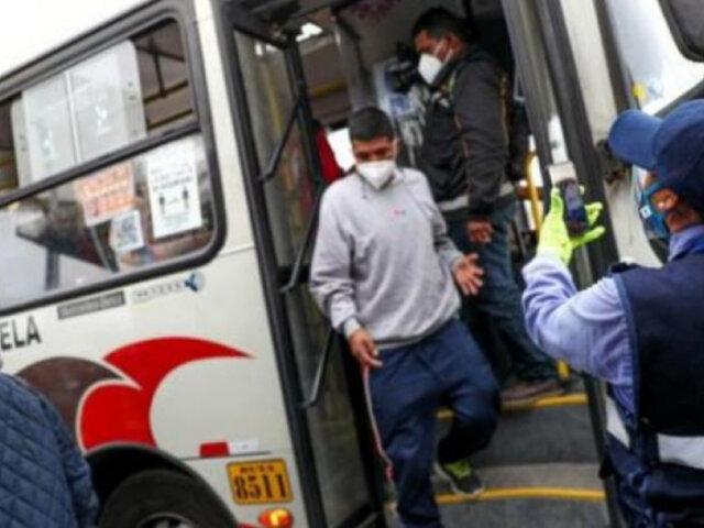 Paro de transportistas: habrá tolerancia de 2 horas de ingreso a trabajadores