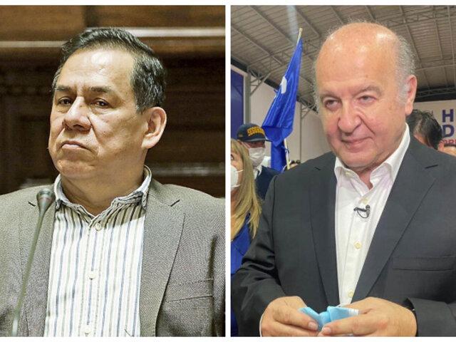 José Vega de UPP negó apoyo de Antauro Humala a Hernando de Soto