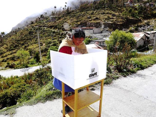 Elecciones 2021: ONPE instalará mesas de sufragio en cerca de 1,000 centros poblados