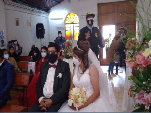 Cusco: intervienen a 25 personas que participaban en boda pese a estado de emergencia