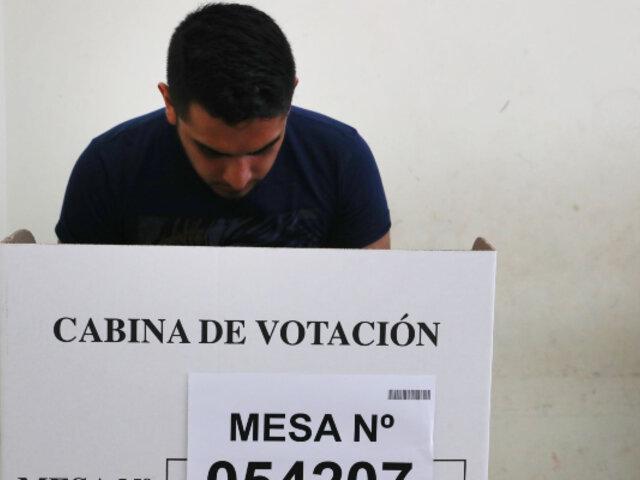 Elecciones 2021: Unos 549 mil jóvenes votarán por primera vez este domingo