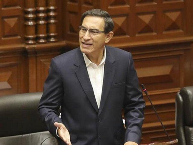 Martín Vizcarra: Congreso revisará este viernes acusación constitucional que plantea inhabilitarlo