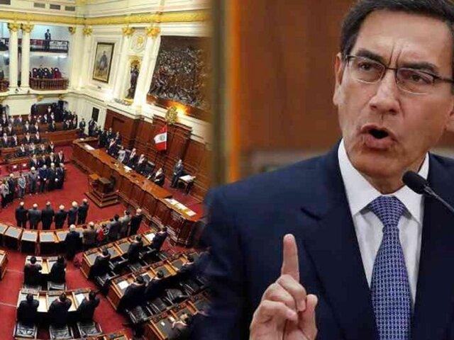 Tras inhabilitación política,  Martín Vizcarra no podría ejercer función congresal