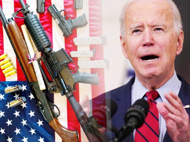 Joe Biden planteará prohibir rifles de asalto en EEUU