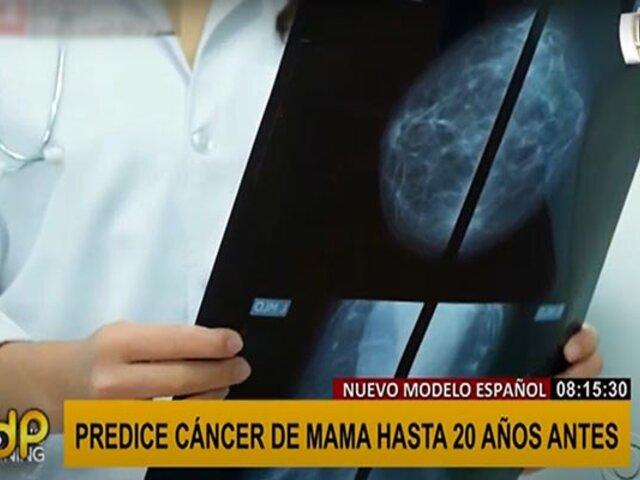 Gran avance: nuevo modelo predice cáncer de mama hasta 20 años antes