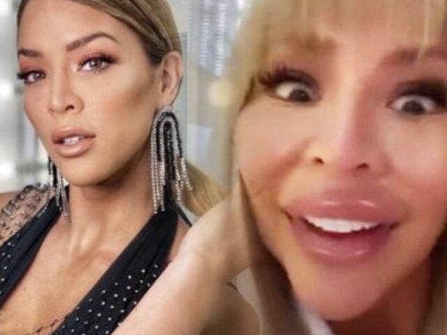 Las Picantitas del Espectáculo: Sheyla Rojas bromea con su rostro por cirugías estéticas