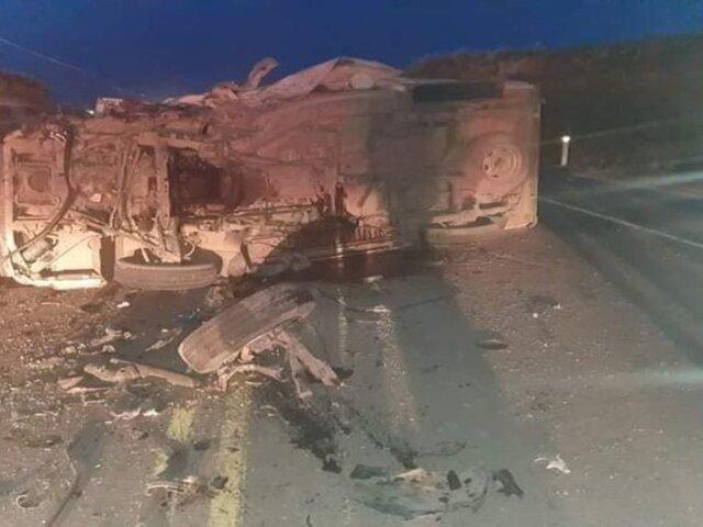 Puno: más de 10 militares heridos dejó accidente vehicular