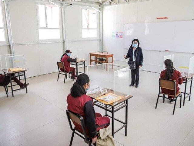 Gobiernos regionales en contra del retorno a las clases presenciales