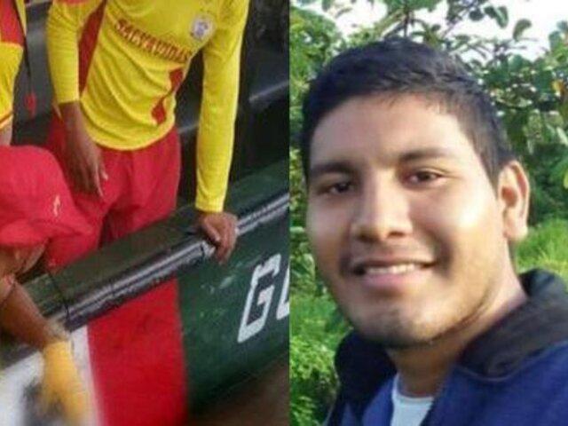 Loreto: policía desaparecido que trasladaba material de ONPE fue hallado sin vida