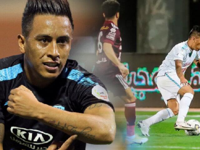 Christian Cueva da victoria a su club Al Fateh en la Saudi Professional League