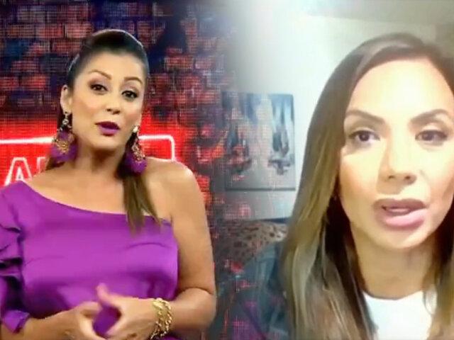 Mónica Cabrejos confirma que dio positivo a COVID-19