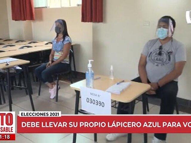 Voto Responsable 2021 | Conozca los protocolos sanitarios preparados para sufragar