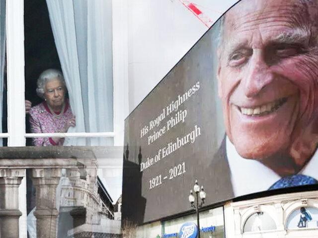 Familia real británica despedirá el 17 de abril al príncipe Felipe de Edimburgo