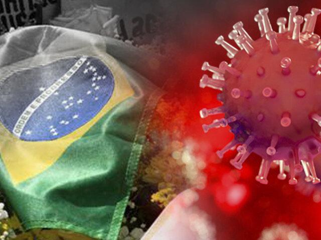Brasil supera las 350 mil muertes por COVID-19