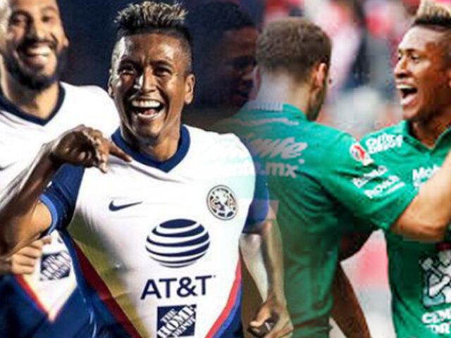 Pedro Aquino anotó en la victoria del club América  contra Tigres