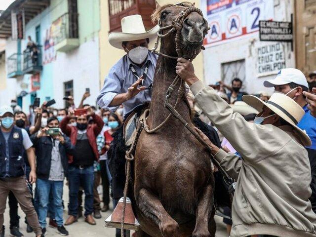 Castillo no mira a Lima en su estrategia inmediata para la segunda vuelta