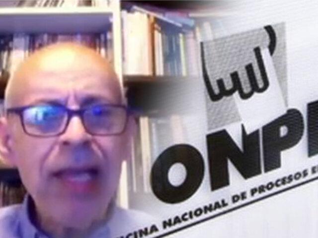Fernando Vivas sobre primeros resultados: Se nos viene una polarización muy grande