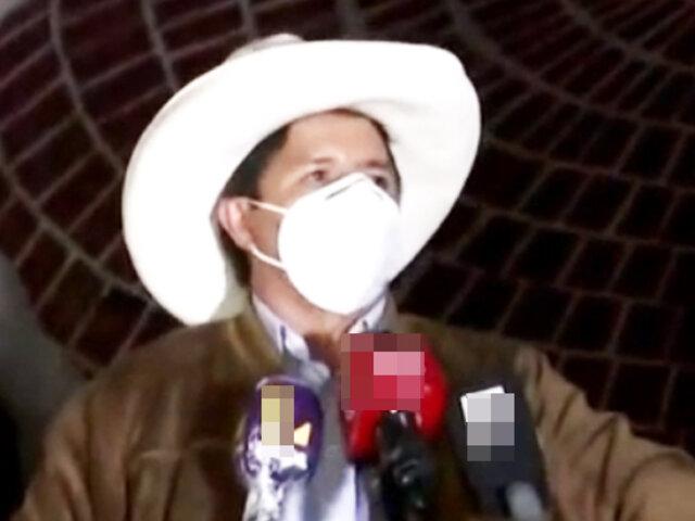 """Pedro Castillo: """"Hoy al Pueblo peruano se le acaba de quitar la venda de los ojos"""""""