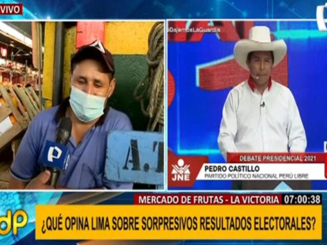 Mercado de Frutas: ¿Qué piensan los ciudadanos tras sorpresivos resultados electorales?