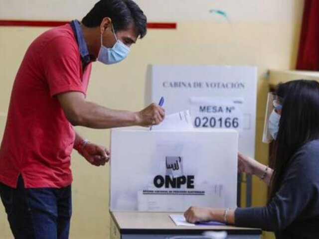 """Bermúdez: """"Estamos garantizando elecciones seguras como fueron las de primera vuelta"""""""