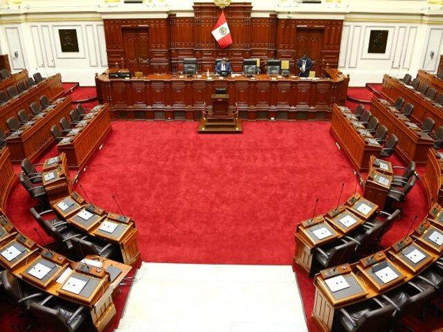 Congreso: aprueban establecimiento de una cuarta legislatura