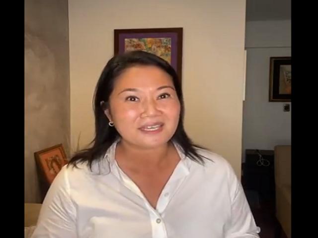 Elecciones 2021: Keiko Fujimori a la expectativa de los resultados finales de la ONPE