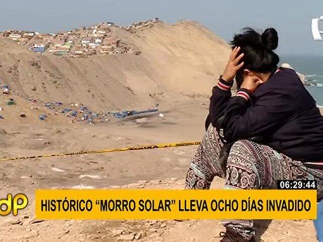 """Morro Solar lleva ocho días invadido por miles de familias: """"estamos abandonados por el Estado"""""""