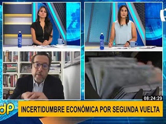"""Tuesta sobre propuesta económica de Castillo: """"nos esperarían varios años de bajo crecimiento"""""""